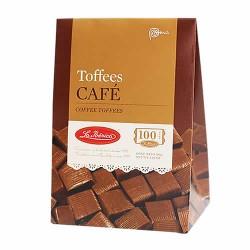 LA IBERICA - PERUVIAN COFFEE TOFFEES - BOX OF 150 GR