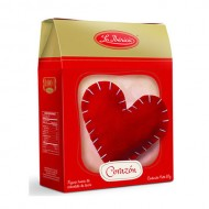 LA IBERICA - HEART CHOCOLATE, BOX OF  80 GR