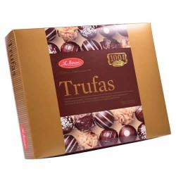 LA IBERICA - PERUVIAN CHOCOLATE TRUFFLES BOX OF 6 UNITS X 80 GR