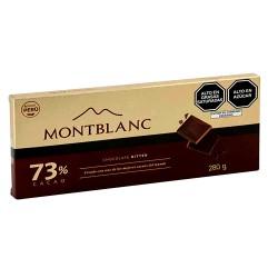 MONTBLANC - CHOCOLATE BITTER , PERU - TABLET X 280 GR