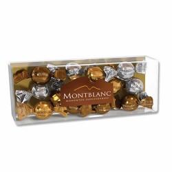 MONTBLANC - CHOCOLATE BONBONS & MIXED STUFFED ALMONDS, PERU - BOX OF 7 UNITS