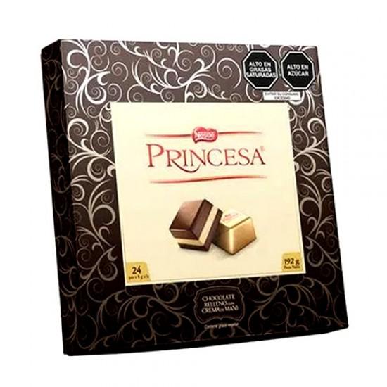 PRINCESA - PERUVIAN CHOCOLATE BONBONS BOX 24 UNITS