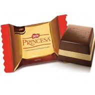 PRINCESA - PERUVIAN CHOCOLATE BONBONS , BAG X 40 UNITS