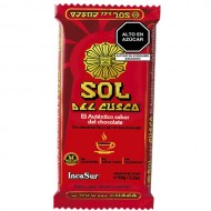 SOL DEL CUSCO - PERUVIAN CHOCOLATE TABLET TO CUP, BAR X 90 GR
