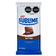 SUBLIME BITTER - BITTER CHOCOLATE WITH PEANUT -TABLET X 100 GR