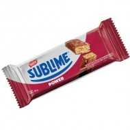 SUBLIME POWER- PERUVIAN CHOCOLATE WAFER ( OBLEA ), PACK OF 6 UNITS