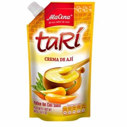 TARI - PERUVIAN YELLOW CHILI SAUCE , SACHET X 400 GR
