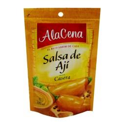 ALACENA - YELLOW CHILI SAUCE PERUVIAN -  SACHET X 85 GR