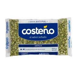 COSTEÑO - GREEN HALF LENTILS , BAG X 500 GR
