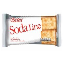 SODA LINE - PERUVIAN SODA LIGHT COOKIES , BAG X 6 PACKETS