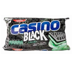 CASINO BLACK - CHOCOLATE COOKIES FILLED WITH MINT CREAM - BAG X 6 PACKETS