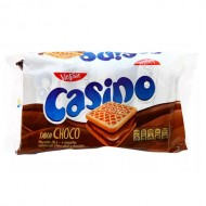 CASINO - COOKIES FILLED WITH CHOCOLATE CREAM -  BAG X 6 PACKETS