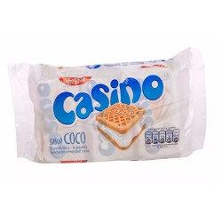 CASINO - COOKIES FILLED WITH COCONUT CREAM - BAG X 6 PACKETS