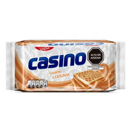 CASINO - COOKIES FILLED WITH LUCUMA CREAM - BAG X 6 PACKETS