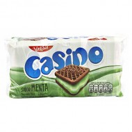 CASINO - COOKIES FILLED WITH MINT CREAM - BAG X 6 PACKETS