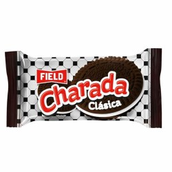 CHARADA CLASIC - COOKIES FILLED WITH VANILLA CREAM - BAG X 6 UNITS