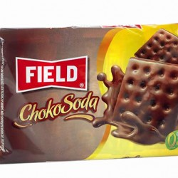CHOKOSODA - SALTED COOKIES BATHED IN CHOCOLATE CREAM - BAG X 6 PACKETS