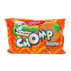 CHOMP - PERU ORANGE FLAVOR COOKIES,  BAG X 6 PACKETS