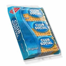 CLUB SOCIAL COOKIES -  PACK  X 6 UNITS