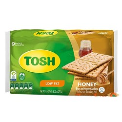 TOSH - INTEGRALCRACKER COOKIES, BAG  X 6 UNITS