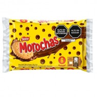 MOROCHAS - CLASIC CHOCOLATE COOKIES, BAG X 6 PACKETS