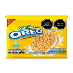 OREO - COOKIES FILLED WITH VANILLA CREAM - BAG X 6 UNITS