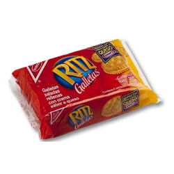 RITZ - SALTY COOKIES WITH CHEESE PACK X 6 UNITS