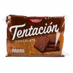 TENTACION -  COOKIES CHOCOLATE FLAVOR , BAG  X 6 PACKETS