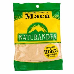 NATURANDES - PERUVIAN MACA FLOUR  POWDER X 180 GR