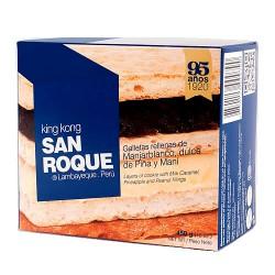 SAN ROQUE - KING KONG OF BLANCMANGE ,PINEAPPLE AND PEANUT x 450 GR.