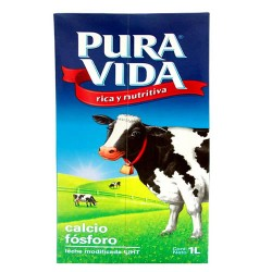 PURA VIDA - MIX LACTEA , BOX  x 1 LITER