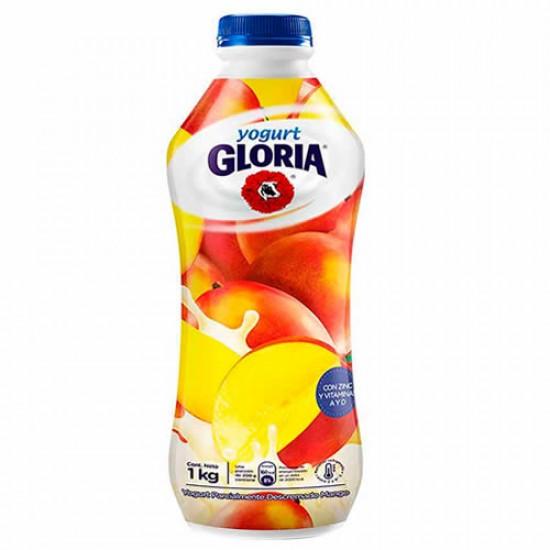 GLORIA -  MANGO YOGURT , BOTTLE  X 1 LITER