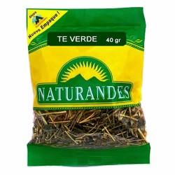 NATURANDES - GREEN TEA LEAVES X 40 GR