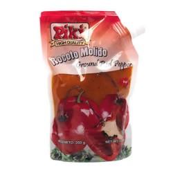 PIKI - PERUVIAN GROUND RED CHILI PEPPER ( AJI ROCOTO MOLIDO ) , DOYPACK X 350 GR