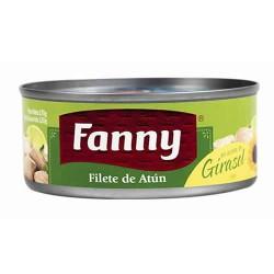 FANNY - TUNA FILLET (STEAK ) CANNED FISH IN  SUNFLOWER OIL  - PERU, TIN x 170 GR