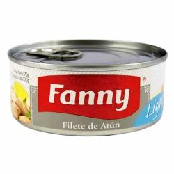FANNY LIGHT - TUNA  FILLET (STEAK) CANNED FISH, TIN x 170 GR