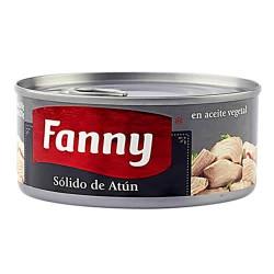 FANNY - TUNA SOLID STEAK CANNED FISH - PERU, TIN x 170 GR