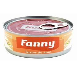 FANNY - TUNA PIECES (TROZOS) STEAK CANNED FISH - PERU, TIN x 170 GR