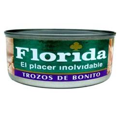 "FLORIDA - PIECES OF ""BONITO"" FISH TIN x 170 GR"