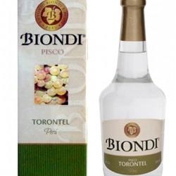 BIONDI - PERUVIAN PISCO TORONTEL BOTTLE X 500 ML