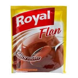 ROYAL- CHOCOLATE FLAN CUSTARD - BAG X 80 GR