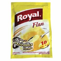 ROYAL - VANILLA FLAN CUSTARD , BAG X 80 GR