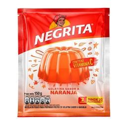 NEGRITA -  ORANGE JELLY , BAG X 150 GR