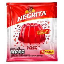 NEGRITA - STRAWBERRY JELLY, BAG X 150 GR