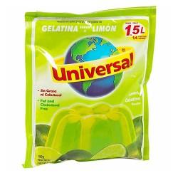 UNIVERSAL - LEMON GELATIN PERU, BAG X 150 GR
