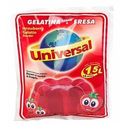 UNIVERSAL - STRAWBERRY JELLY , BAG X 150 GR