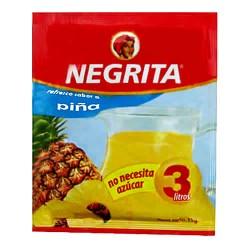 NEGRITA - INSTANT DRINK PINEAPPLE FLAVOR  , BAG X 10 SACHETS  13 GR