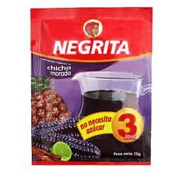 NEGRITA - INSTANT DRINK CHICHA MORADA FLAVOR , BAG X 10 SACHETS