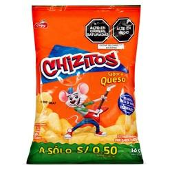 CHIZITOS - PUFFED CORN SNACKS - BAG X 30 UNITS