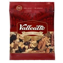 VALLEALTO - PERUVIAN WALNUTS  COCKTAIL , BAG X 100 GR